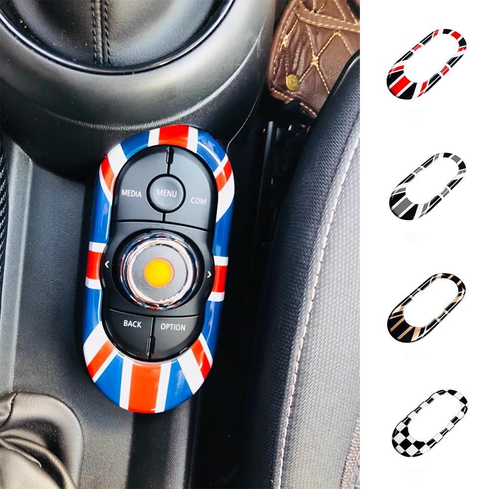 Union Jack Car Gear Shift Panel Cover Decoration Sticker Car Styling For MINI Cooper S JCW F55 F56 F57 Interior Accessories