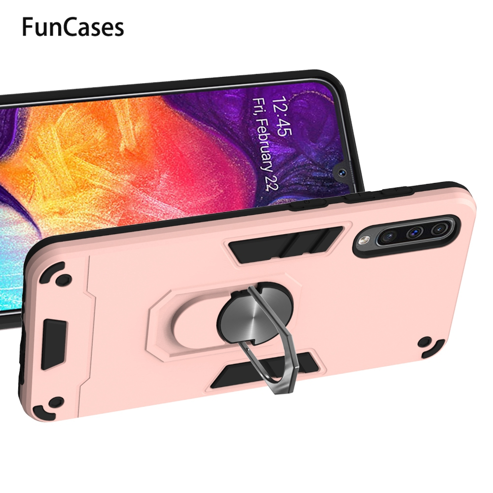 Finger Holder Case For Samsung A71 Mobile Cases Galaxy M40 A50 S10 Lite A91 A70S M60S M80S A81 A30S A60 A50S A70 Note 10 A40 A51 image