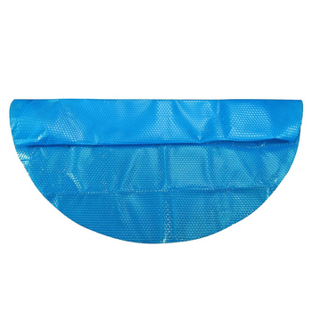 Hot Swimming Pool Cover Dust Rainproof Pool Cover Blue Round Tarpaulin Durable For Family Garden Pools Swimming Pool Accessories swimming pool cover spa rainproof dust covers for outdoor swim sports gym cover accessories