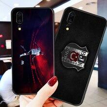 цена на Yinuoda Phone Case For Besiktas FC Huawei P9 lite P10 Shell DIY Case Quaresma For P8 lite 2017 mate 10 P30 lite NOVA lite