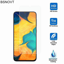 2PCS Glass For Samsung Galaxy A30 Screen Protector Film SM-A305F/DS BSNOVT