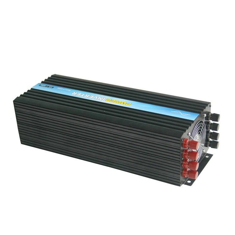CE i ROHS zatwierdzone dc 48 do ac 220v 230v 240v 8000w/8kw falownik solarny, czysta fala sinusoidalna falownika z sieci, darmowa wysyłka