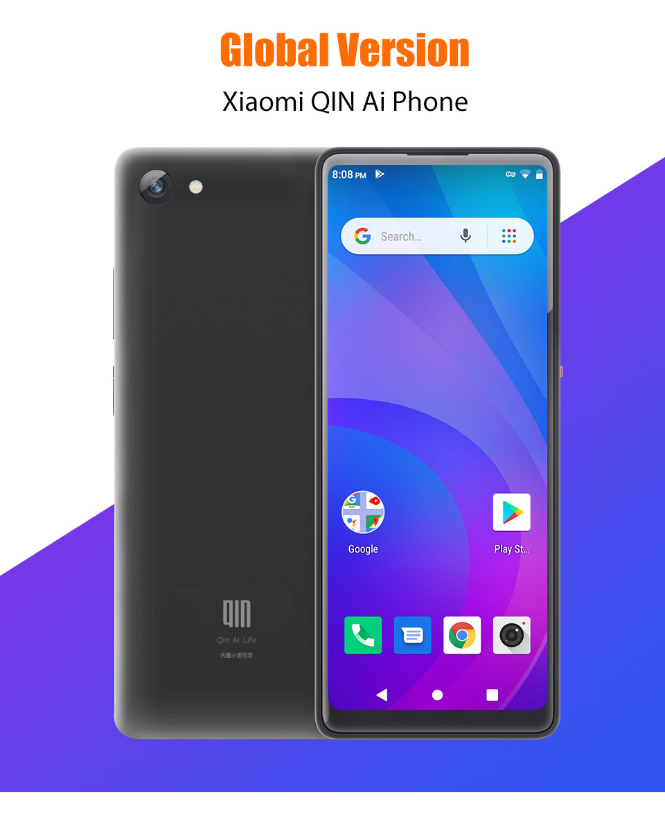 In Stock Global Version Xiaomi QIN Full Screen Phon e 4G Network With Wifi 5.05 inch 2100mAh Andriod 9.0 Quad Core Feature (1)