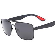 купить Sunglasses Men Polarized Fashion Male Eyewear Sun Glasses Travel Fishing Driving Oculos gafas de sol hombre Wholesale JM0031 дешево