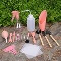 16 шт. цветок суккулент посадки сева Инструменты Набор лопата грабли Лопата Пинцет чайник садовые аксессуары