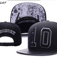 Высокое качество вышивка для мужчин аниме Slam Dunk Косплей Костюм Shohoku#10 бейсболки Snapback кепки регулируемые кепки пляжные кепки