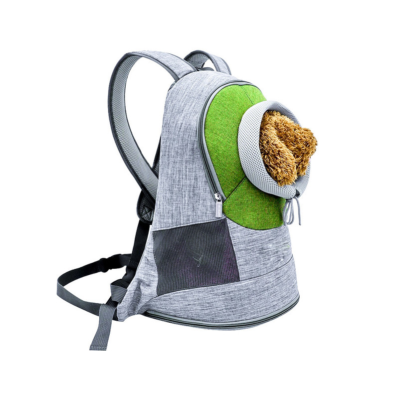 Pet Carrier <font><b>Backpack</b></font> Breathable Outdoor Kitten Carrying Bag for Kitty Puppy HYD88 image
