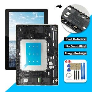 ЖК-дисплей сенсорный экран дигитайзер сборка + рамка для Lenovo Tab M10 Tab 5 Plus TB-X605L TB-X605F TB-X605M