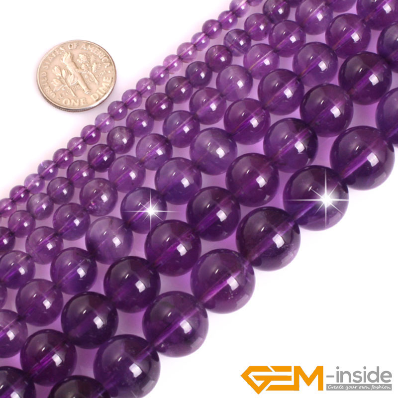 "6 mm Naturel Facette Rose Clair Jade Gemstone Round Loose Bead 15/"" AAA"