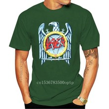 SLAYER - SILVER EAGLE - Official Licensed T-Shirt - Heavy Metal - New S M L XLTee Shirt Casual Man