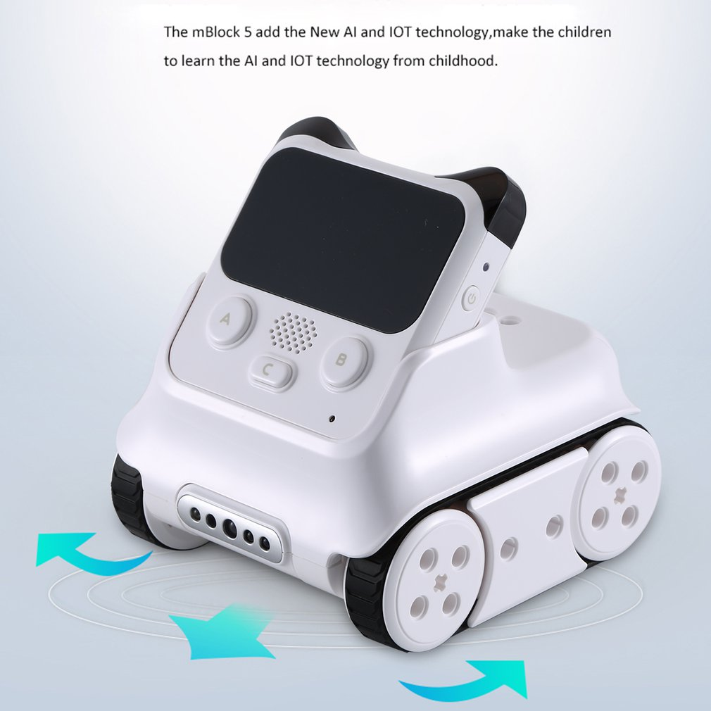 Makeblock Codey Rocky Smart Programming Robot Educational BT Wifi Robot Entry Level Programming For Children Stem Education