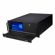 19 inches 4U rack-mount server chassis industrial all in one machine equipment computer 8.9 \