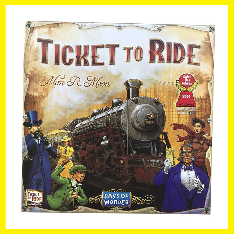 NEW Age8+ Days Of Wonder Ticket To Ride Board Game Party Table Games Card Games Adults