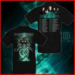 Disturbed T Shirt Evolution Tour Disturbed 2019 S 3Xl T Shirt