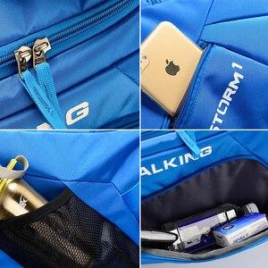 Image 5 - Esportes ginásio saco à prova dwaterproof água sacos de esportes para homens fitness yoga treinamento bolsa com compartimento sapato viagem saco do esporte 30l