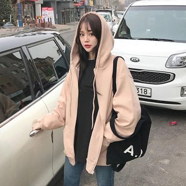 Summer 2021 Fashion Zip Up Cute Bear Sweetshirt Vintage Long Sleeve Spring Clothes Women Hoodies Coat Loose Harajuku Tops 12