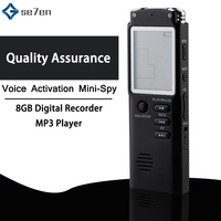 8GB Voice Recorder USB Professional 96 Hours Dictaphone Digital Audio Voice Recorder With WAV,MP3 Player