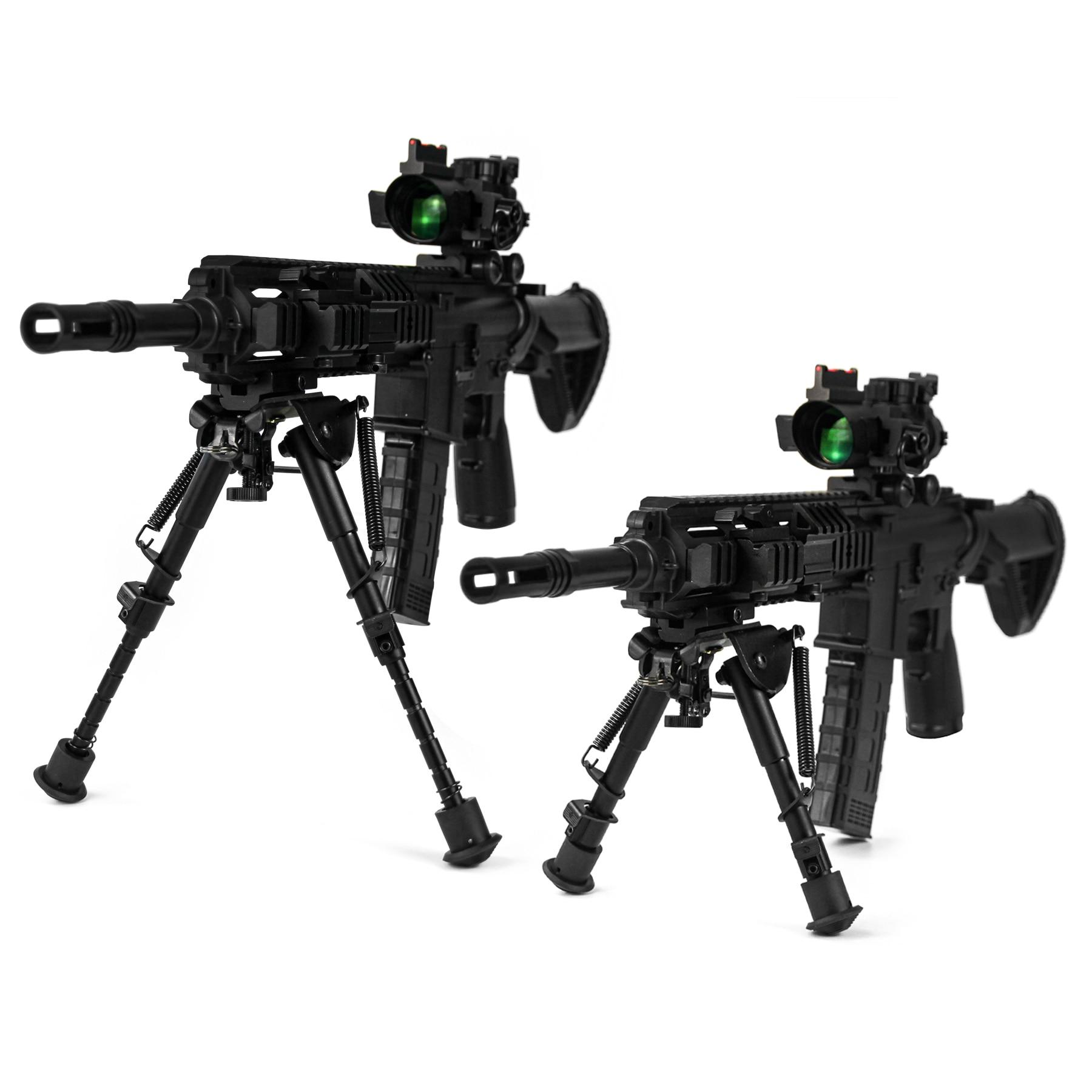 2 X Aluminium QD Tactical Black Spring Loaded Rifle Sling Crochets AIRSOFT AIRGUN