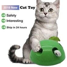 البوب ن لعب القط لعبة مضحك القط لعبة تفاعلية في الخدش جهاز القط شحذ مخلب البوب لعب القط لعبة تدريب مستلزمات الحيوانات الأليفة