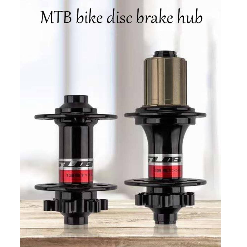 Bicycle Hubs Sealed Bearing MTB  Bike Hubs Quick Release set  front 32H / 14G, rear 32H / 14GHoles Disc Brake MTB  bike disc bra