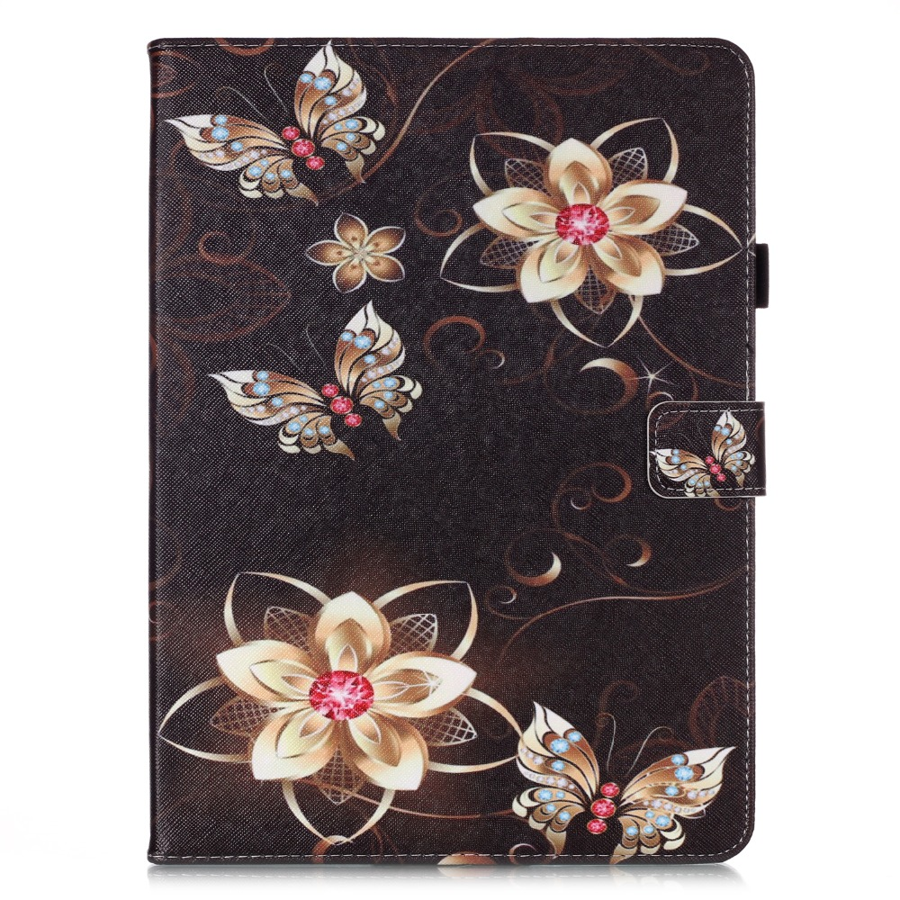 Case Funda Flowers Cover 11 Coque Owl Tablet Tablet Pro Wallet Stand For iPad For 2020