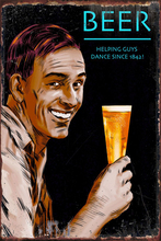 Beer Wine Tin Sign Tin Plates Wall Decor Room Decoration Retro Vintage Metal Sign Art For Pub Home Club Man Cave Cafe