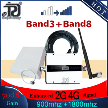 4g signal booster GSM 900 UMTS 1800 mhz Dual Band cellular signal booster 900 1800 gsm