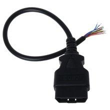 16 контактный Штекерный адаптер obd2 открывающийся кабельный