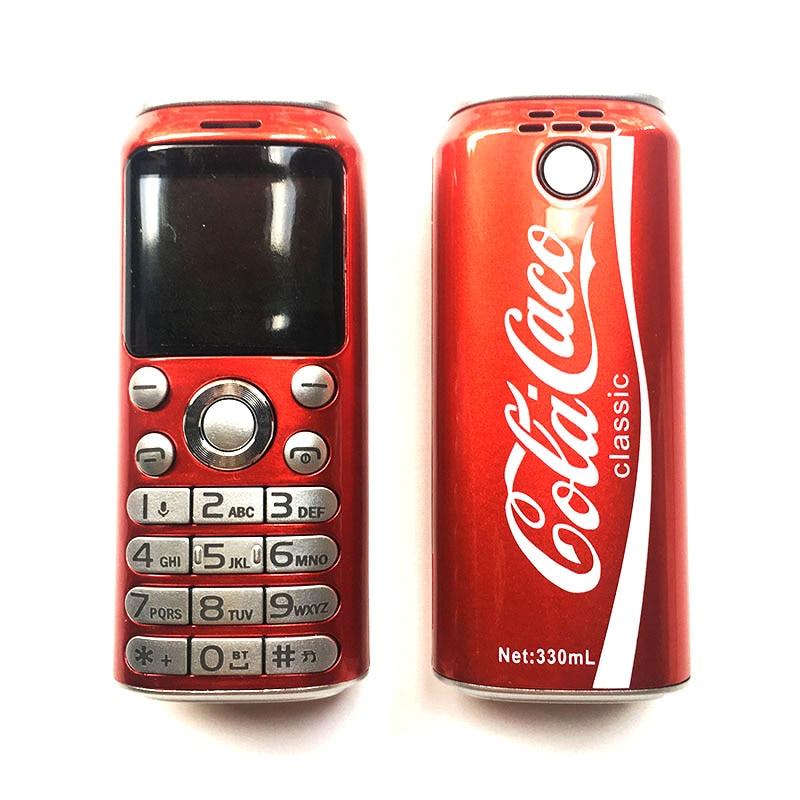 New 2020 CHAOAI Mini Cellphone K8 Bluetood Keybord Dual Sim Mp3 Recording Dialer Call Super Mini Telephone