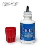 1 butelka Korea Sky Glue S + do przedłużania rzęs czerwona czapka Sky Glue 1-2s czas na sucho mocny najszybszy klej do rzęs
