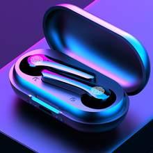Y18 tws bluetooth fones de ouvido 9d estéreo esportes à prova dyágua y30 sem fio com microfone e caso carregamento para todos os smartphones