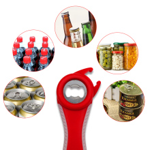 5 in 1 Multi function multi-function Stainless Steel plastic Can jar bottle open can Opener Beer Good Kitchen Tool tools недорого