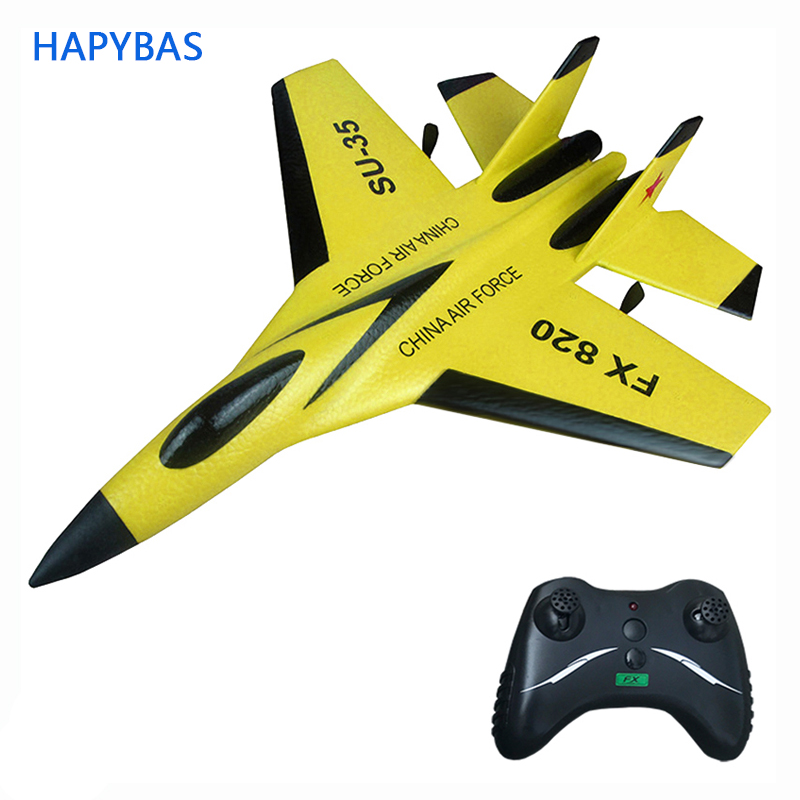 F16 SU35 2.4GHz 390mm big Wingspan EPP RC Fighter Done Battleplane RTF Remote Controller RC Aircraft Outdoor Education Toy