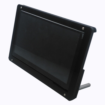 7 Inch LCD Acrylic Case Raspberry Pi 3 Model B LCD Touch Screen Display Monitor Bracket Case for Raspberry Pi 4 LCD Screen 7 inch hdmi tft touch screen lcd display monitor hd 1024x600 for raspberry pi 3 model b pi 4 computer tv box dvr game device