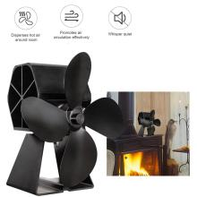 Thermal Power Fireplace Fan Heat Powered Stove Fan Hot Power Heat Furnace Fan For Wood Log Burner Fireplace kgps medium frenquency inudction heat furnace support customized diodes thyristor