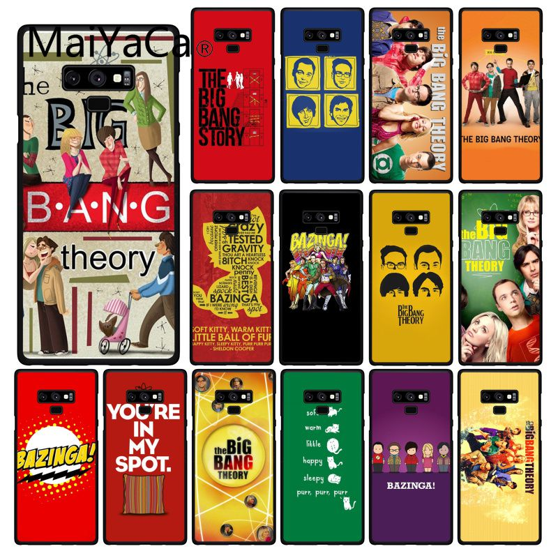 Maiyaca Bazinga The <font><b>Big</b></font> <font><b>Bang</b></font> Theory tv show <font><b>Phone</b></font> <font><b>Case</b></font> For Samsung Galaxy A50 A70 A20 A30 Note9 8 Note7 Note10 Pro image