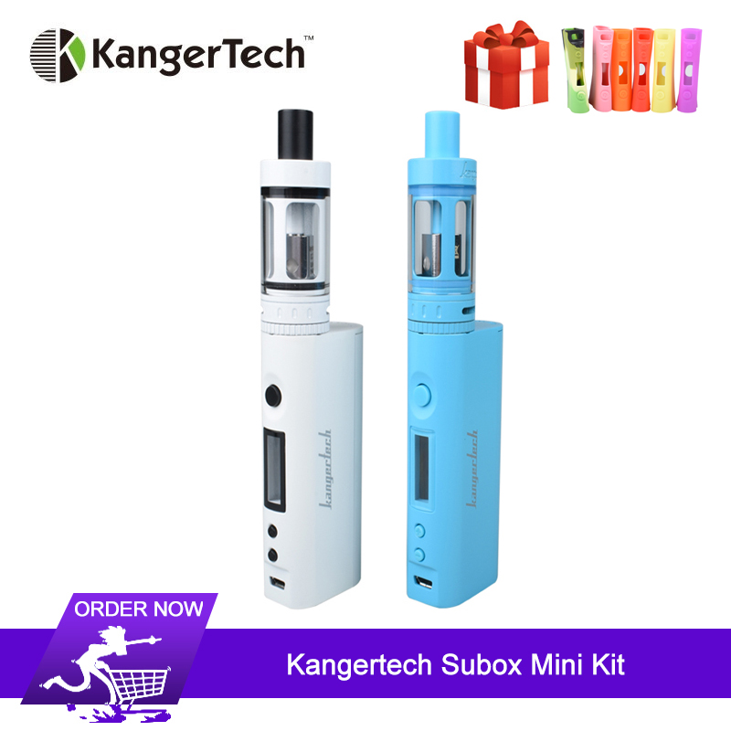 Original kanger subox mini starter kit cigarros eletrônicos 50 w kbox mini caixa mod com 4.5ml subtanque mini atomizador vs luxe s