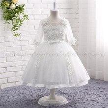 цены Custom Made First Communion Dresses Princess Flower Girl Dresses Pageant Dress