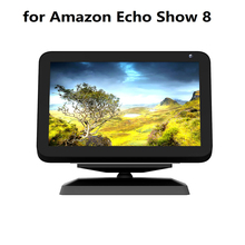 Show Mount Bracket for Echo Show 8 Stand Magic Anti-Slip Base Magnetic Adjustable Rotatable Bracket Speaker Holder