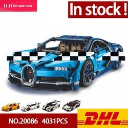 In Voorraad Dhl 20086 20001 20001B 23006 20087 Technic Serie Auto Model Bouwstenen Bricks Compatibel 42083 Geschenken Speelgoed