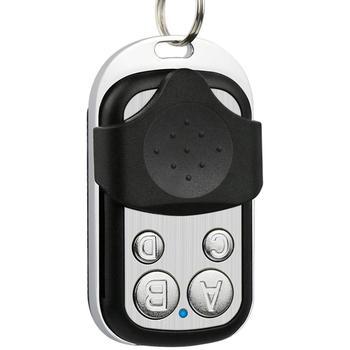 Bezprzewodowy uniwersalny RF pilot zdalnego sterowania kod nauki pilot zdalnego sterowania 4 kanałowy do bramy brama garażowa bezprzewodowy pilot zdalnego sterowania tanie i dobre opinie CN (pochodzenie) 12cmcm 15cmcm Wireless remote control 0 03kgkg Black 14 mA 58mm
