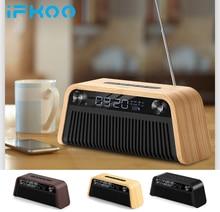 IF Q2 Drahtlose Bluetooth Lautsprecher Wecker Computer Schreibtisch Subwoofer Outdoor Auto Telefon Mini Tragbare Retro Sammlung Radio TF