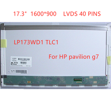 Display-Panel-Replacement Matrix Pavilion Lcd-Screen Laptop LP173WD1 for Hp G7 1600--900