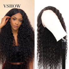 Deep Wave Lace Front Human Hair Wigs Pre Plucked For Women 1