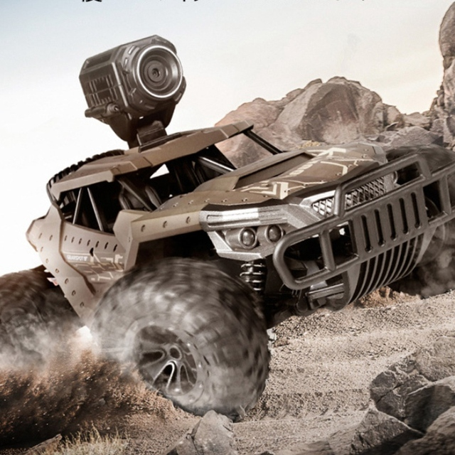 RC Car Climbing Car Double Motors Drive Bigfoot Car Remote Control Model Off-Road Vehicle Oys for Boys Kids 6