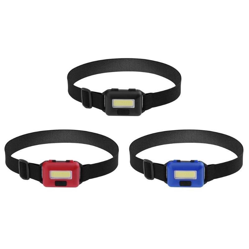 Mini COB LED Scheinwerfer Scheinwerfer Kopf Lampe Taschenlampe Camping Wandern Nacht Angeln Licht