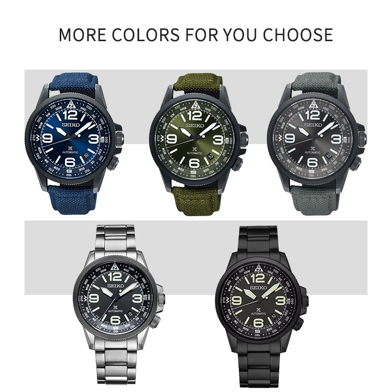 Image 5 - SEIKO brand official original product PROSPEX series watch men automatic mechanical watch casual fashion waterproof wristwatch-in Sports Watches from Watches