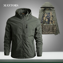 Men Military Jacket 2020 New Casual Bomber Pilot Jackets Male Solid Loose Zipper Tactical Overcoats Outerwear Cargo Windbreaker