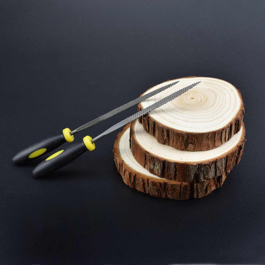 ASSORTED Rasp ไม้บดมือแฟ้มไม้แฟ้มมะฮอกกานีไม้เนื้อแข็ง Hand เครื่องตัดไม้แกะสลักฟันหยาบฟัน
