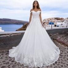 Сексуальные свадебные платья с открытыми плечами 2021 милое